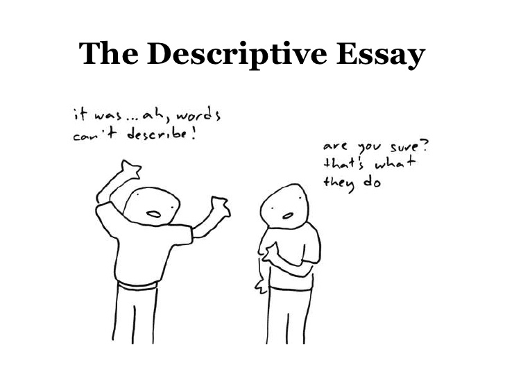 descriptive essay - Examples of your Crucial essay